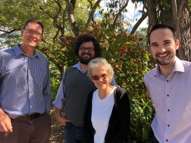 Neil Gammon (GALVMed), Mario Herrero (CSIRO), Maggie Gill (University of Aberdeen/CGIAR), Roy Wooley (GALVmed)